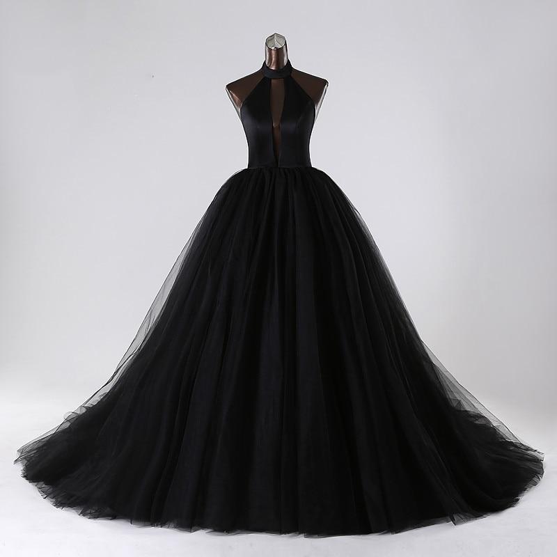 Пышные Платья Черного Цвета