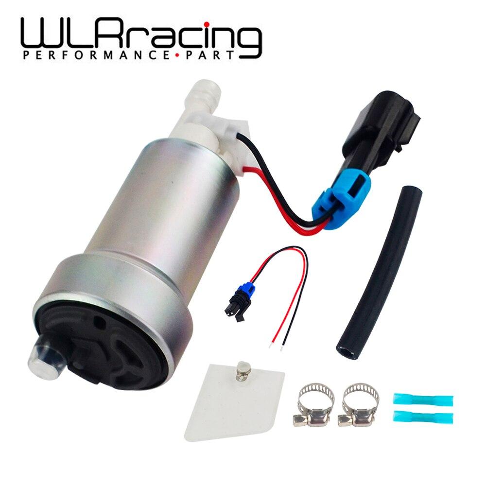 Wlr-e85 호환 레이싱 닛산 스카이 라인 스바루 wrx f90000267 및 설치 키트 용 고성능 450lph 연료 펌프