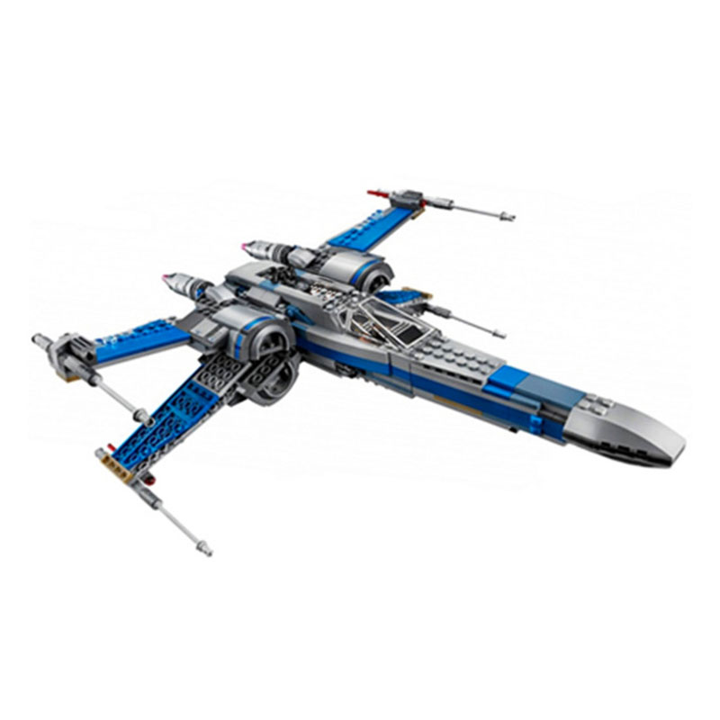 05145 05004 05029 Star fighter First Order Poe's X Wing Fighter Wars Building Blocks Bricks with Lepining 1