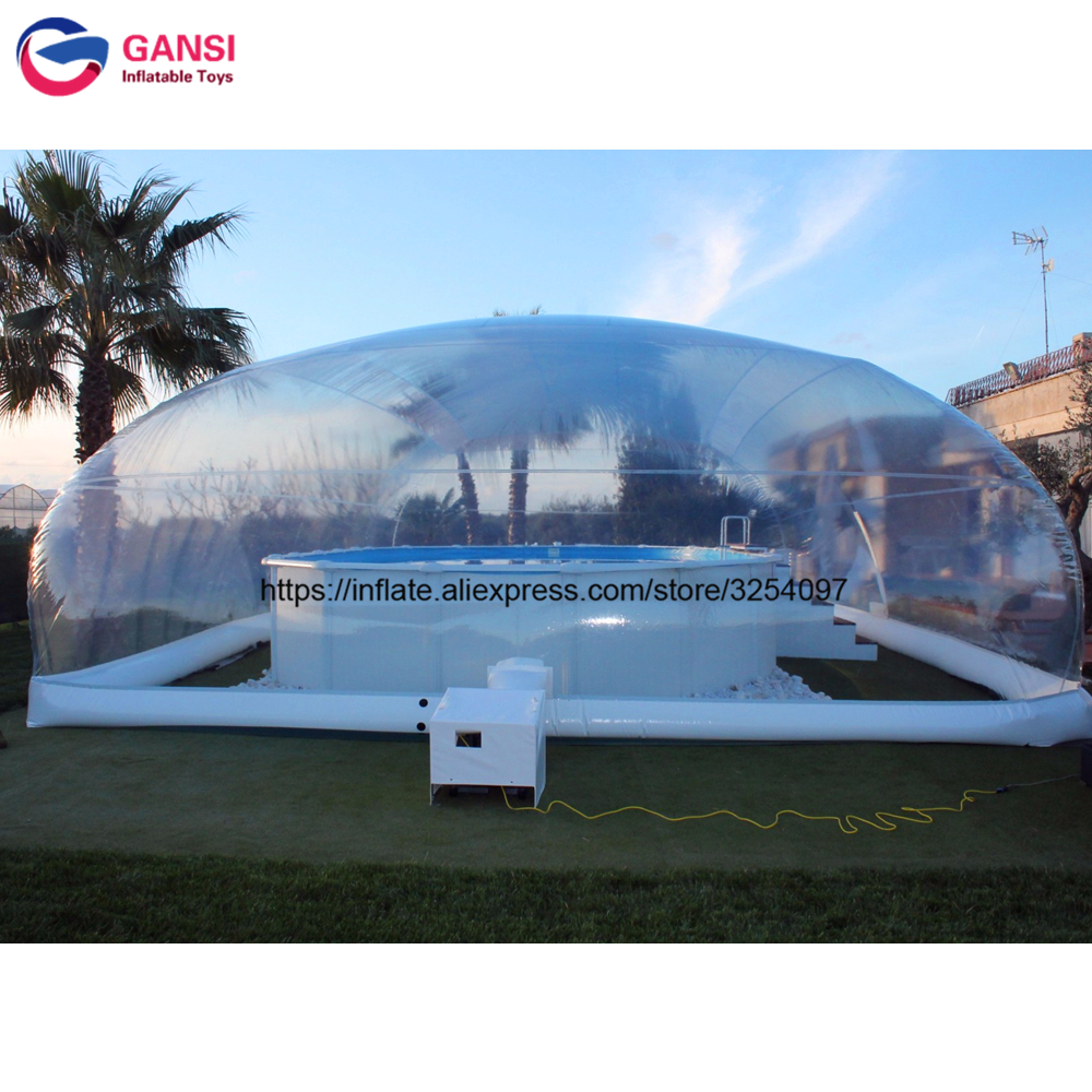 Factory Price Clear Transparent Pool Cover Inflatable Air Dome For Pool
