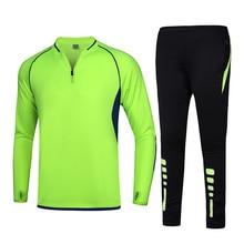 BHWYFC 2019 Winter Sportswear Men Tracksuit  Football Jersey Kids Outdoor Running Training Suit Long Sleeve Soccer
