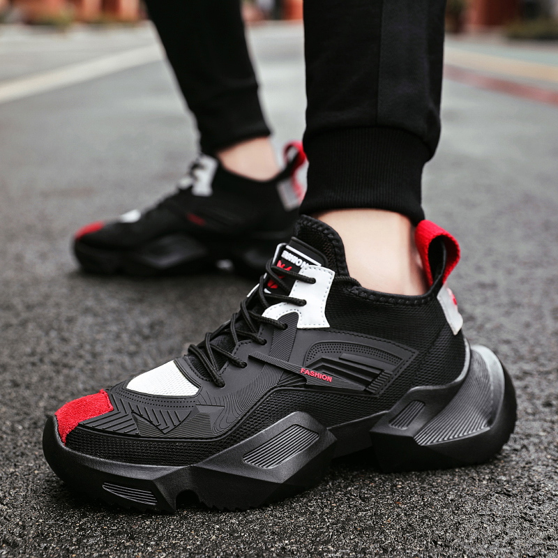 New Damping Men Basketball Shoes Hard wearing Basketball Sport Shoes Lightweight Outdoor Walking Sneakers for Men Casual Shoes|Basketball Shoes| |  - title=