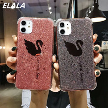 Case For iphone XR Cover Glitter Flamingo Mirror Phone Case For iPhone 11 Pro XR X MAX XS 6S 7 8 Plus Shockproof Soft Cover Capa