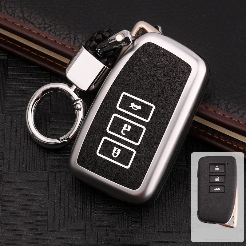 Zinc alloy luminous for Lexus NX GS RX IS ES GX LX RC 200 250 350 LS 450H 300H key cover car accessories keychain keyring new|Key Case for Car| |  - title=