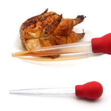 Обеденные бутылки для специй барбекю трубка индейка бар курица 30 миллилитровый шприц посуда труба Бастер Тип гаджет для посуды корм для домашней птицы