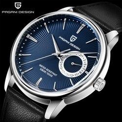 PAGANI DESIGN marka mężczyźni automatyczny zegarek top luksusowy zegarek kwarcowy mężczyźni stal wodoodporny mężczyzna zegarek na co dzień mężczyźni relogio masculino