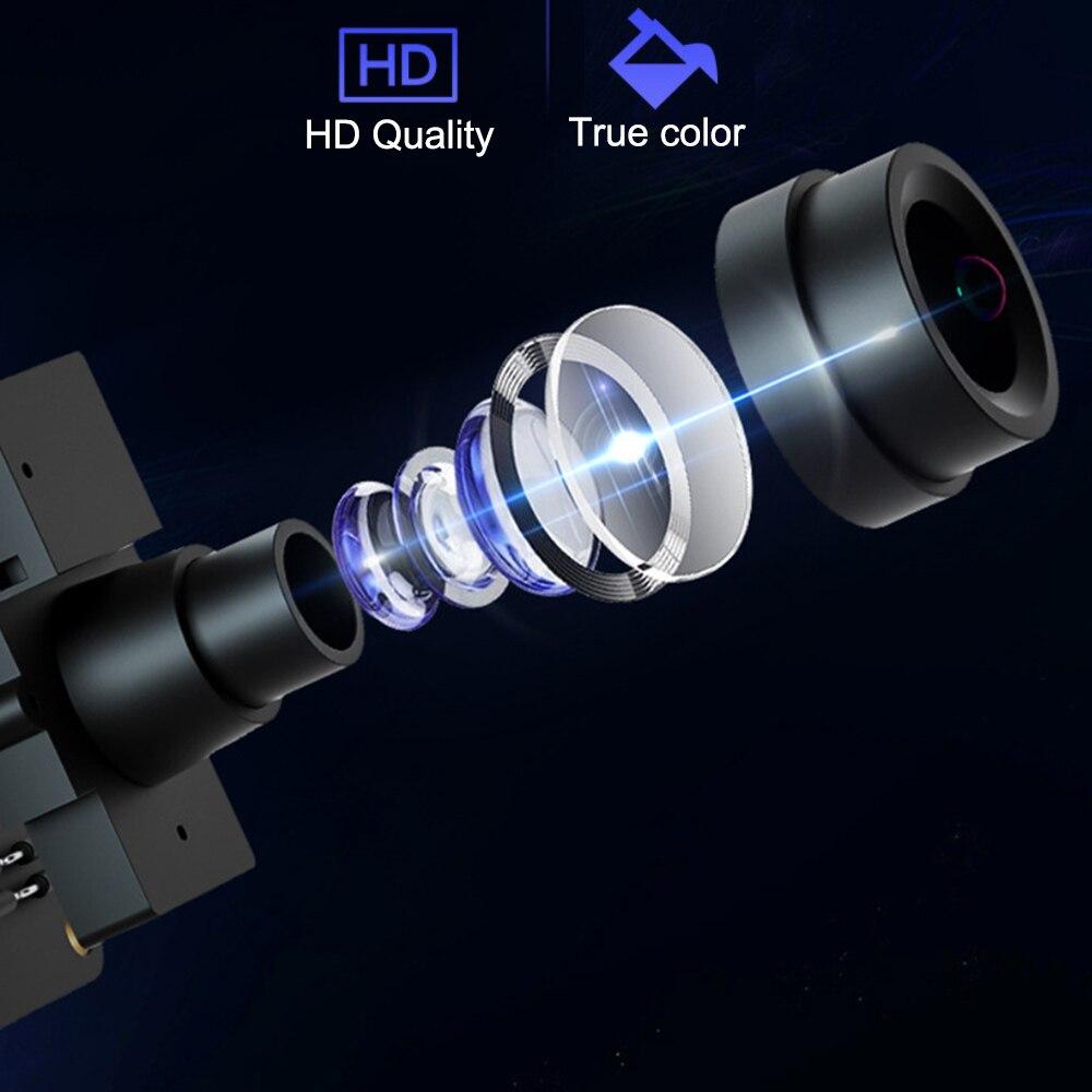 câmera 1080 p visão noturna em dois