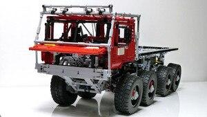 Image 1 - Техническая серия MOC, набор автомобилей Marauder, строительные блоки, развивающие игрушки для детей, модель подарка, совместима с Lepining Bricks