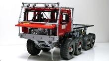 Técnica moc série o conjunto de blocos de construção do carro marauder brinquedos educativos para crianças modelo presente compatível com lepining tijolos