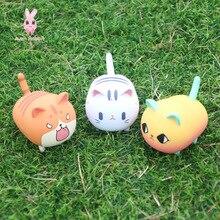 Toys Blind-Box-Toys Figures Guess-Bag Anime Cute Cat Ciega Cat-Model-Doll Caja Electric-Swing