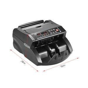 Image 2 - Aibecy Multi Cash Money Bill Contador de Notas da Moeda Máquina de Contagem Automática IR/DD Detecção Display LCD para EUA dólar Euro