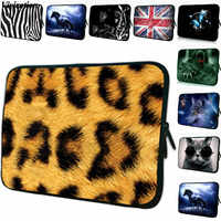 2020 The Most Popular Leopard Tablet Sleeve Bag For iPad Mini 5 Case 7/ 7.7/7.9/ 8 Inch Neoprene Women Netbook Case Cover Pouch