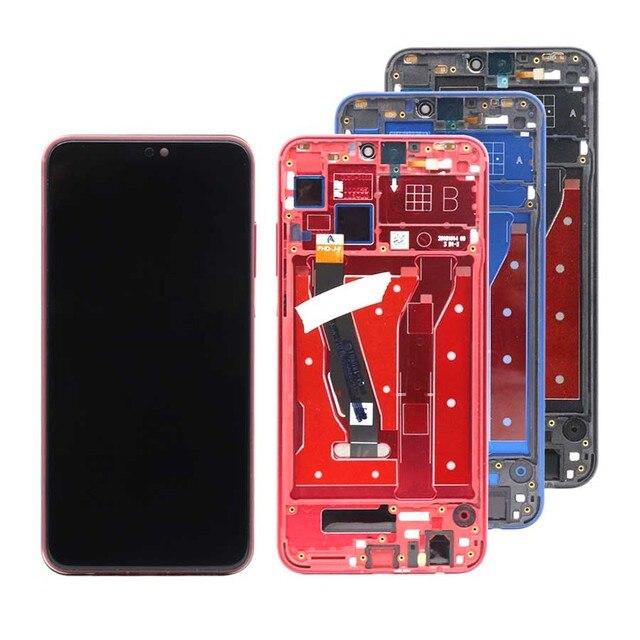 Оригинальный дисплей для Huawei Honor 8X, ЖК дисплей с тачскрином и рамкой, сменный дисплей для Honor 8X, L23