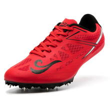 Sneakers Ultra-Light Field-Shoes Track Athletic-Spikes And Breathable Men Nails D0872