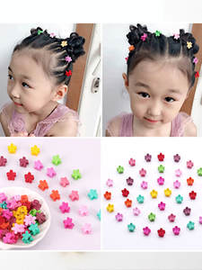 50pcs Women Girls claw clip Hair accessories Hair bow clips hairpins for women baby gumki