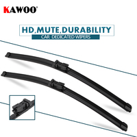 """KAWOO 2pcs Car Wiper Blade 32""""+28"""" For Peugeot 5008  (2009 ) Auto Soft Rubber Windcreen Wipers Blades Car Accessories Styling