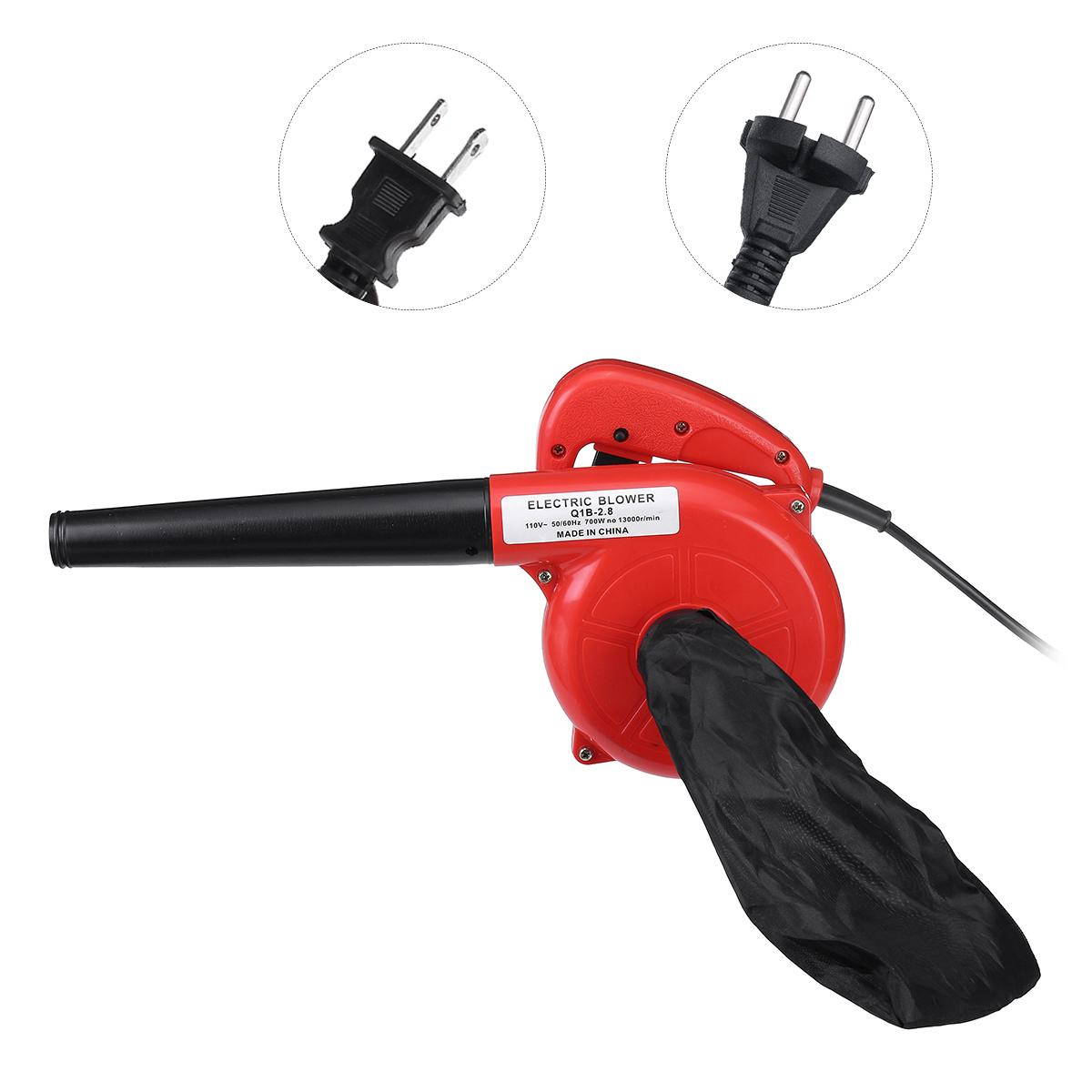 110V/220V 700W Multifunctional Air Blower Computer Cleaning Electric Dust Removal Air Blower Cleaner for Computer