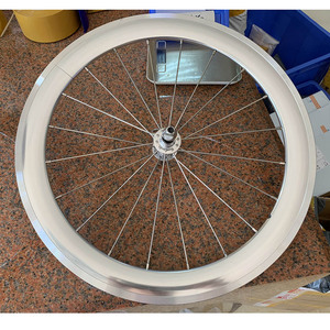 """Image 3 - Silverock liga rodado 20 """"406 451rim pinça de freio alto perfil 74 100 130 11s para triciclo bicicleta dobrável rodas minivelo"""