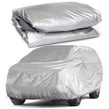 Universel complet bâches de voiture neige glace poussière soleil UV ombre couverture lumière argent taille S XL Auto voiture extérieur protecteur couverture