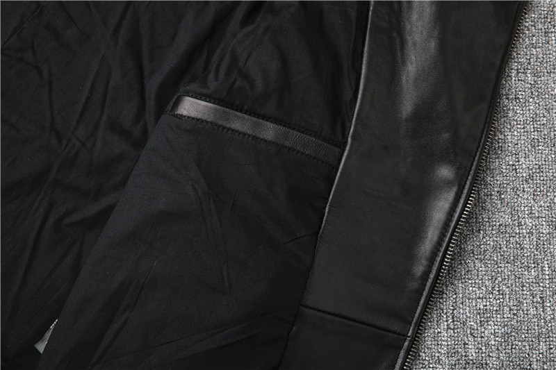 Hb4ab828cdb6c43b9a12de8ddfe037141d Free shipping,Sales!Brand new genuine leather jacket.mens motor biker sheepskin coat.slim plus size jackets.leather outwear