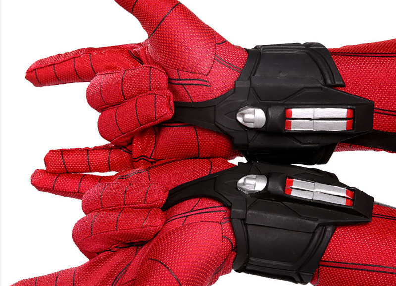 New Spider Man Toys Plastic Cosplay Spiderman Glove Launcher  Funny Toys For Boys Birthday New Year