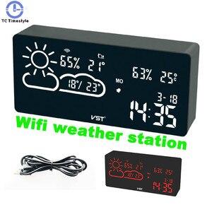 Alarm Clock Wifi World Time We