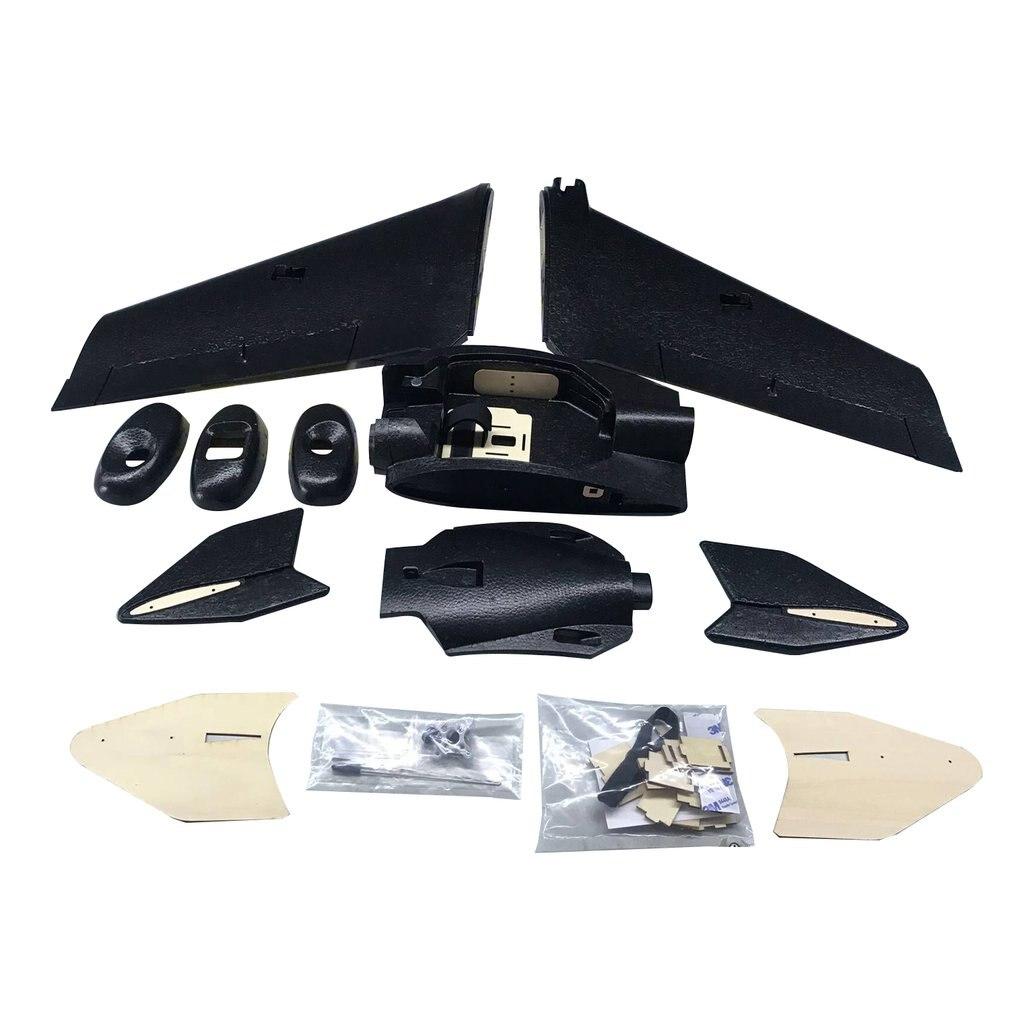 Zohd sonicmodell ar asa 900mm epp wingspan rc fpv avião fixo asa planador zangão avião modelo com 80 + km/h atualizar versão kit