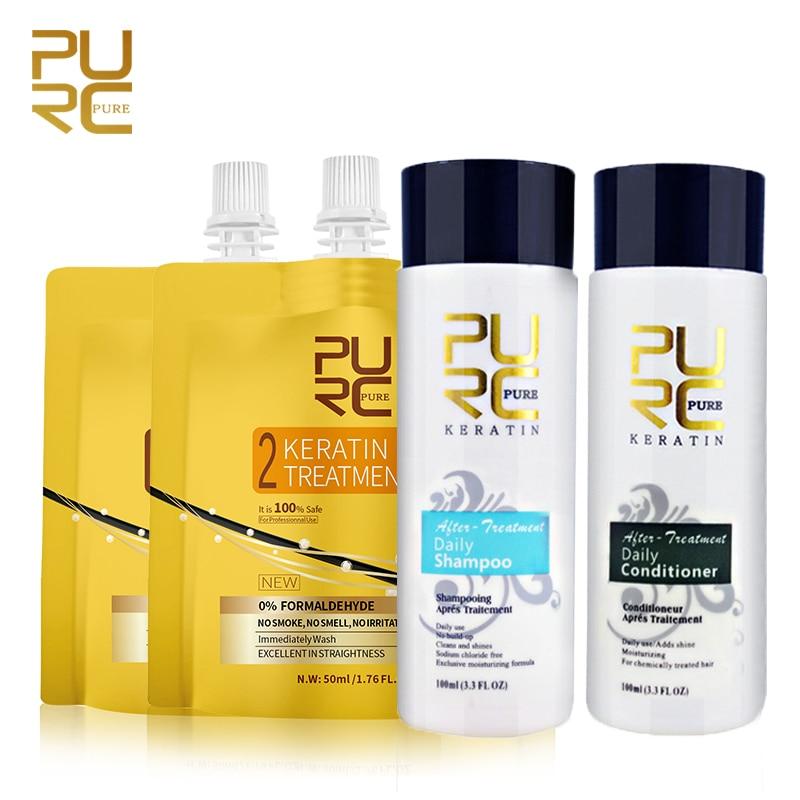 Восстанавливающий Кератиновый шампунь для восстановления волос, очищающий шампунь для сухих завитых волос после кератинового лечения, кон...