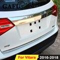 Наклейка для Suzuki Vitara 2020 2018 2017 2016 2015  отделка задней двери из нержавеющей стали  аксессуары для отделки