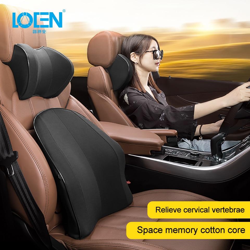 LOEN New Memory Foam Functional Neck Pillow U Shaped Travel Pillow Car Head Neck Rest Pillow Seat Cushion For Travel Home Office|Neck Pillow| |  - title=