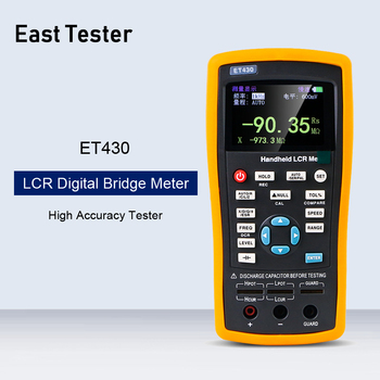 ET430 Multifunction Handheld LCR Digital Bridge Meter High Precision Capacitance Inductance Resistance Meter Tester With USB