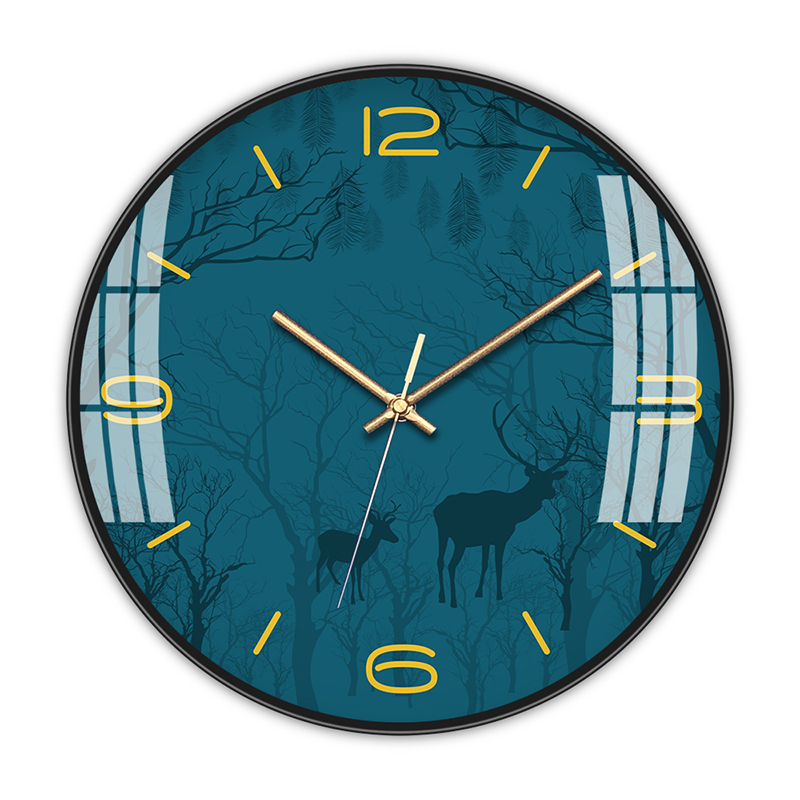 Creative Wall Clock Nordic Glass Bedroom Modern Design Wall Clocks Decorative Watches Living Room Watch Wall Clock Decor II50BGZ