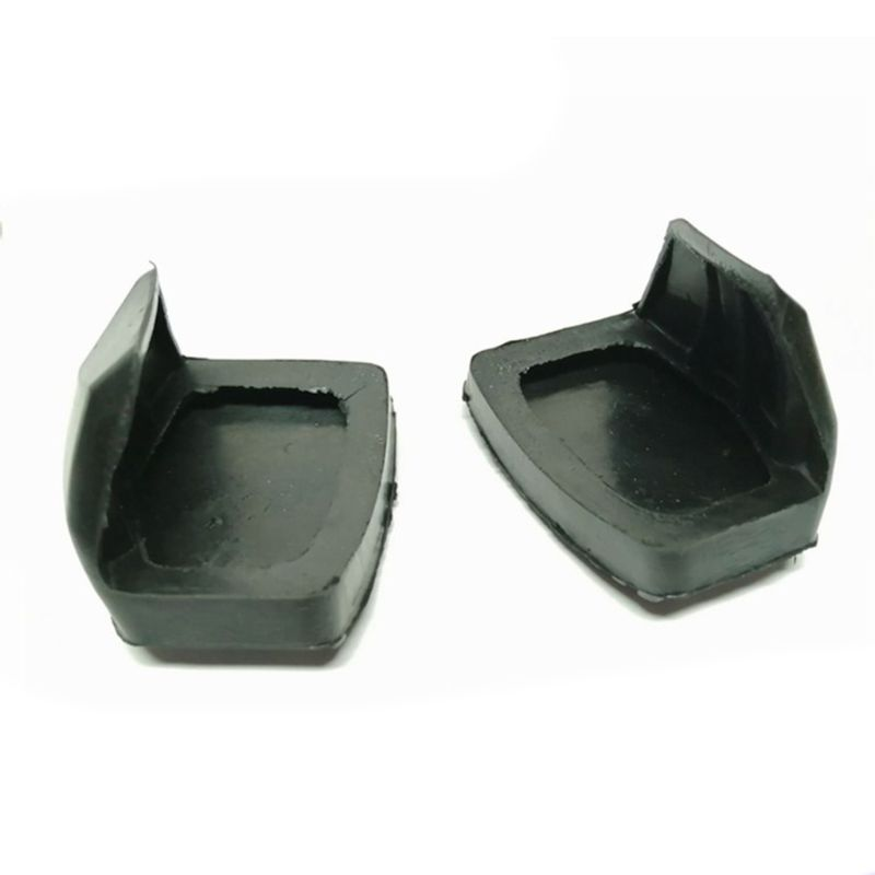 Cubierta de goma para Pedal de embrague freno, 1 par, para Peugeot Citroen 1007 207 208 301 307 308 508 C3 C4 C5 C6 C8, embrague de freno P