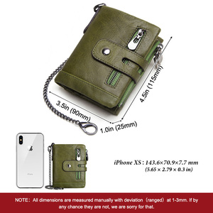 Image 5 - KAVIS 100% ของแท้ Cowhide หนังผู้หญิงกระเป๋าสตางค์หญิง PORTFOLIO Portemonnee กระเป๋าเหรียญขนาดเล็ก Walet กระเป๋าแฟชั่น