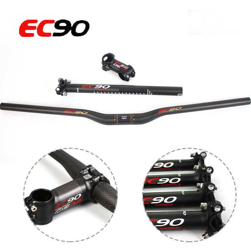 EC90 Carbon Handlebar 31.8//25.4mm 660-760 Stem Seatpost 27.2//30.8//31.6 MTB Bike