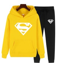 2021 Autumn And Winter Hot-Selling Brand Two-Piece Thick Hoodie Sportswear Ladies Sports Fitness Training Sports Shirt Casual We