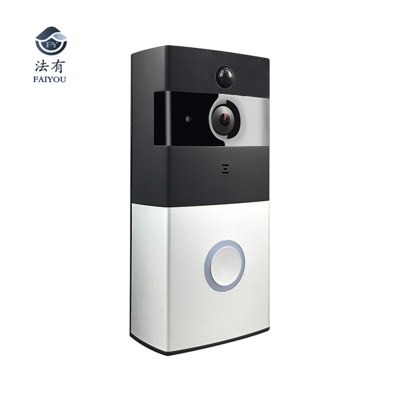 Low Power Consumption Wireless WIFI Doorbell Work With Alexa Video Door Bell Phone Door Camera Remotely Monitor Viewer Security