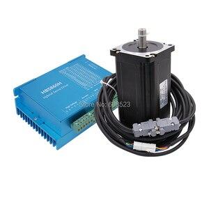 Image 4 - Nema 34 סרוו מנוע 86HB250 156B 12N.m + HBS860H לולאה סגורה צעד מנוע Nema 34 86 Hybird סגור לולאה 2 שלב עבור CNC מכונת