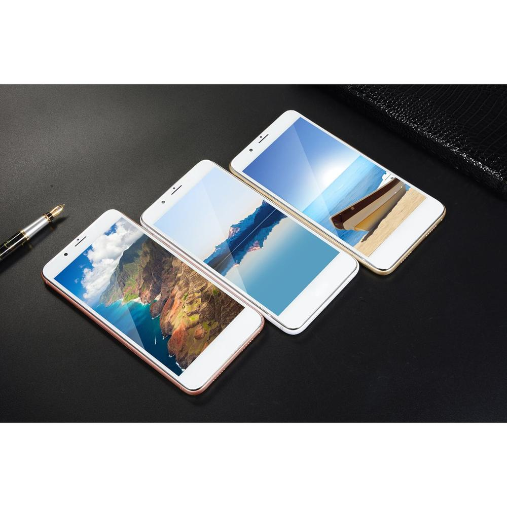 5.5Inch 7Plus Dual-Card Original Mobile Phone Four Socket Type Smart Phone Multi-Funticon Cellphone