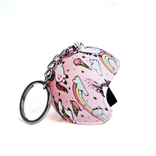 Hot Helmets Key Chain Motorcycle Safety Helmet Keychain Women Cute KeyRing Men Holder Trendy Ring for Car Purse Bag Gift