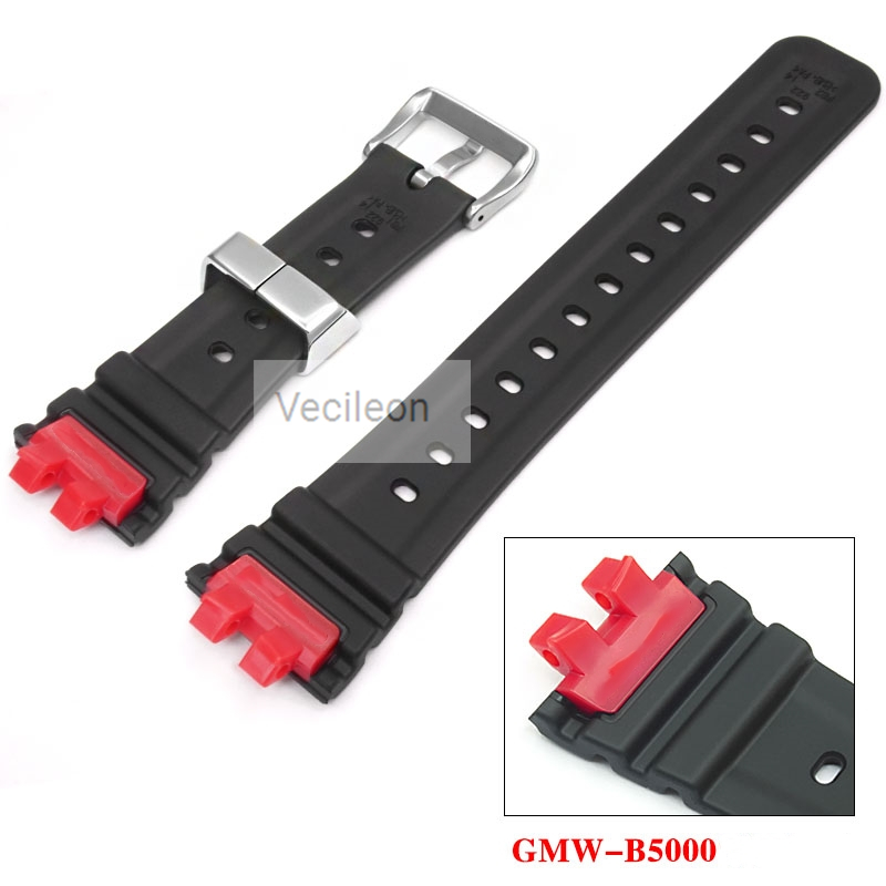 GMW-B5000 Custom Watch Modification Watchband Strap With Metal Watch Strap Loops And Buckle  Factory Made