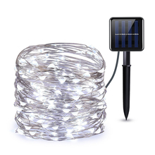 String-Lights Outdoor Solar-Lamp Party-Decor Holiday Garden Waterproof Garland LED Fairy