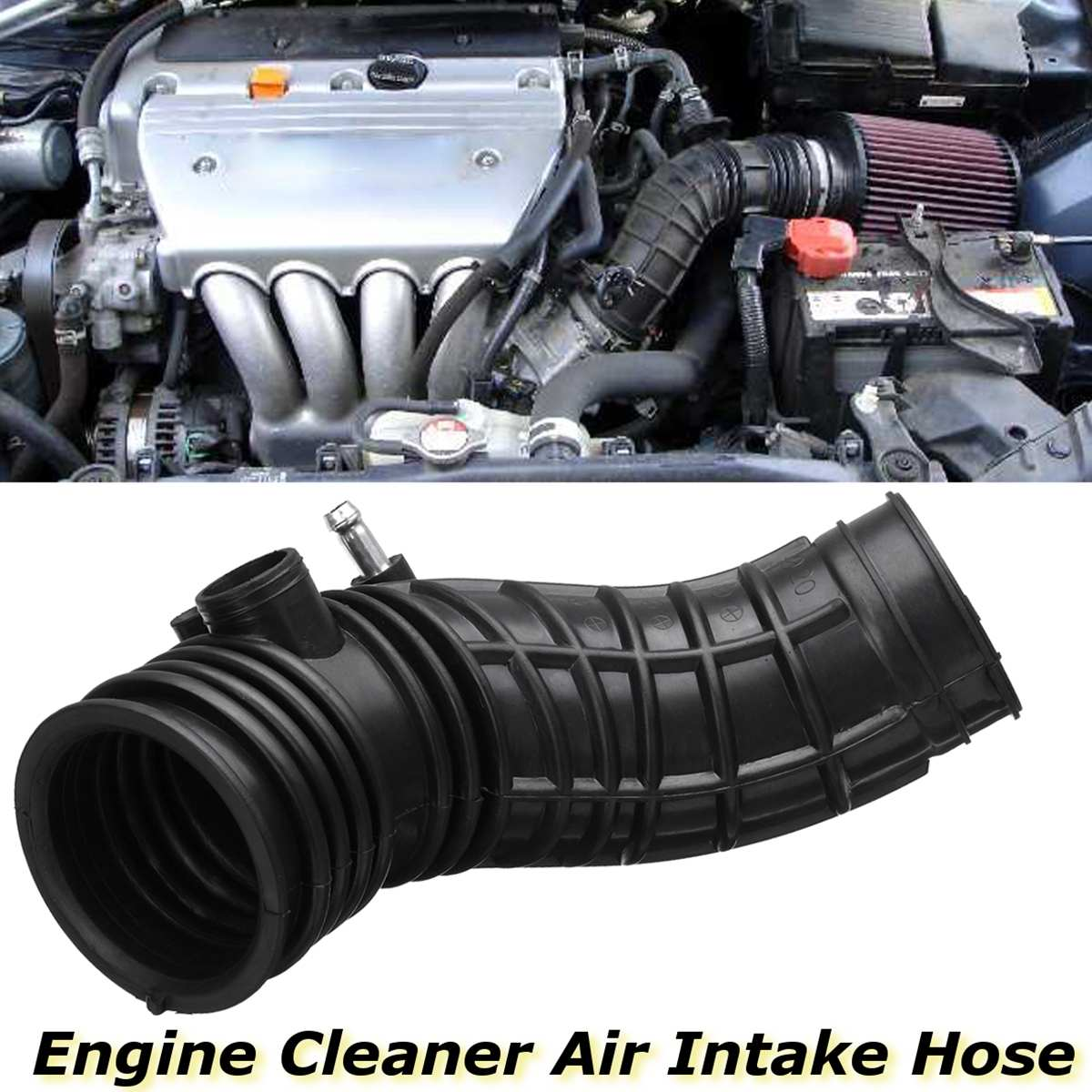 For <font><b>Acura</b></font> <font><b>TSX</b></font> 2004 2005 2006 <font><b>2007</b></font> 2008 AIH551078H Car Auto Engine Rubber Cleaner Air Intake Hose image