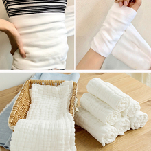 Double-layer Cotton Baby Saliva Towel cotton fabric Food grademedical fabric wholesale 100% Gauze Cloth Diaper Fabric Material