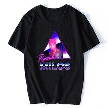 Ricardo Milos Aesthetic Vaporwave Vintage Summer Men T-shirt