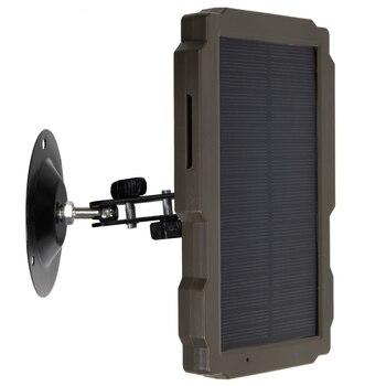 5000mA  12V Hunting Camera Solar Panel  Power Supply Charger Battery for Suntek 9V  HC900 HC801 HC700 HC550 HC300 Series 4