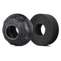 INJORA 4PCS 130*46MM 2.2 Rubber Terrain Tyre Wheel Tires for 1/10 RC Rock Crawler Axial SCX10 RR10 Wraith KM5 5