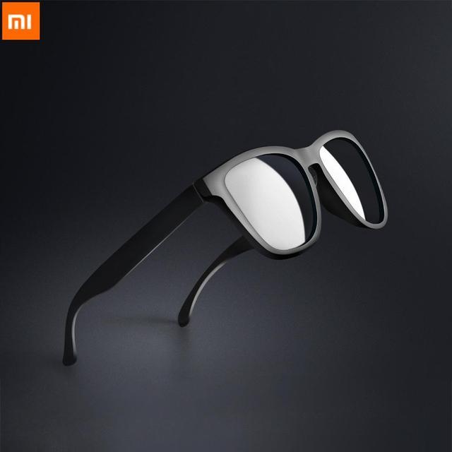 Xiaomi Mijia Youpin TAC classique lunettes de soleil carrées pour homme & femme lentille polarisée une pièce design sport conduite lunettes de soleil
