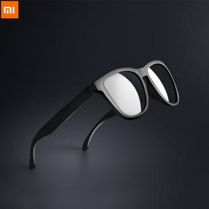 Image 1 - Xiaomi Mijia Youpin TAC קלאסי כיכר משקפי שמש לגבר ואישה מקוטב עדשת מקשה אחת עיצוב ספורט נהיגה משקפי שמש