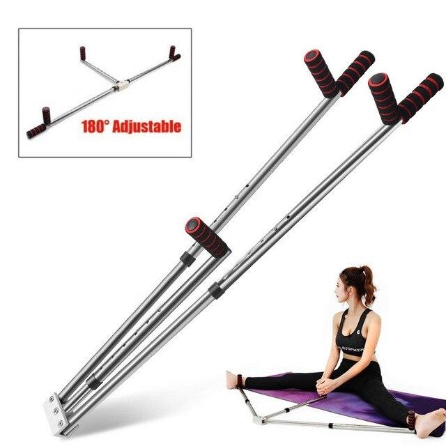 3 Bar Bacak Sedye Bölünmüş Makine Uzatma Cihazı Paslanmaz çelik ayak Ligament için Bale Yoga Egzersiz Eğitim Ekipmanları
